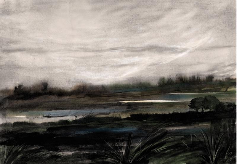 Paysages Crépusculaires - Les Marais